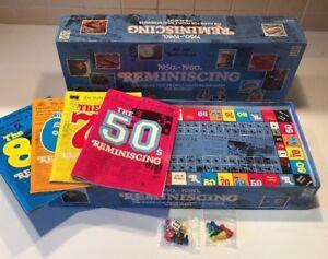 1950 S - 1980 S réminiscences Board Game (Remembering the Beatles Édition) Complet-afficher le titre d`origine HOMOKLSg-08132219-344965390