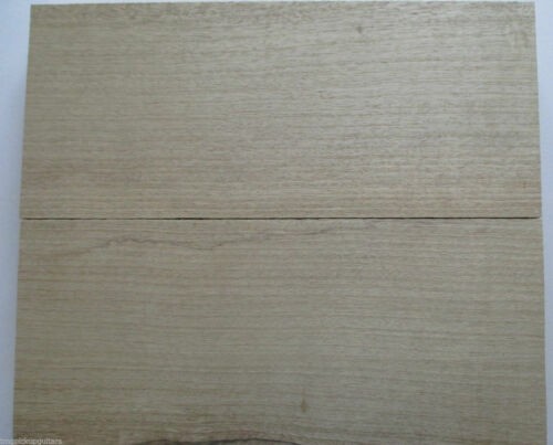 FLV Body Korpus white Korina Limba Tonholz Zweiteiler 2 x 550 x 250 x 52 mm