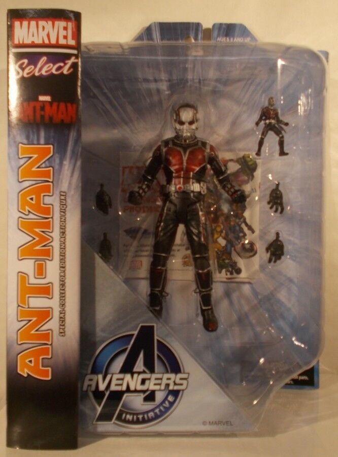 Marvel Select - Ant-Man Movie Paul Rudd Scott Lang Avengers Initiative (MISP)