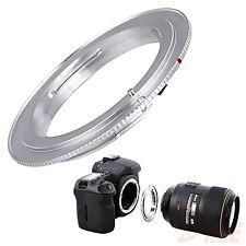Nikon Lens to Canon EOS Mount Ring Adapter Connector Converter for DSLR SLR