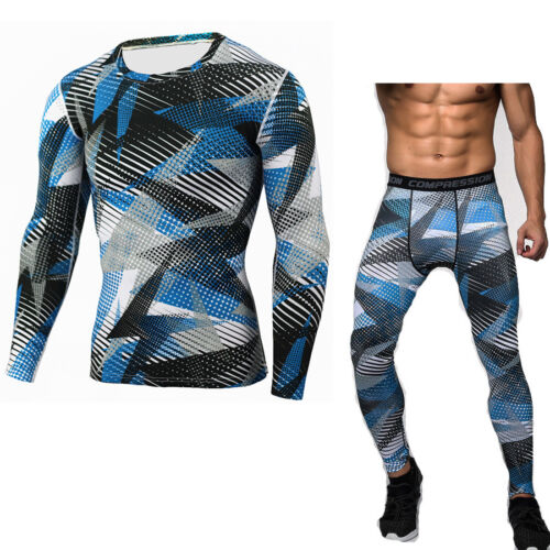 Men/'s Sports Compression Sets Athletic Apparel Under Base Layer Dri-fit Outfits