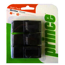 3 Prince Microtac Grips/Overgrips - Black - Free P&P