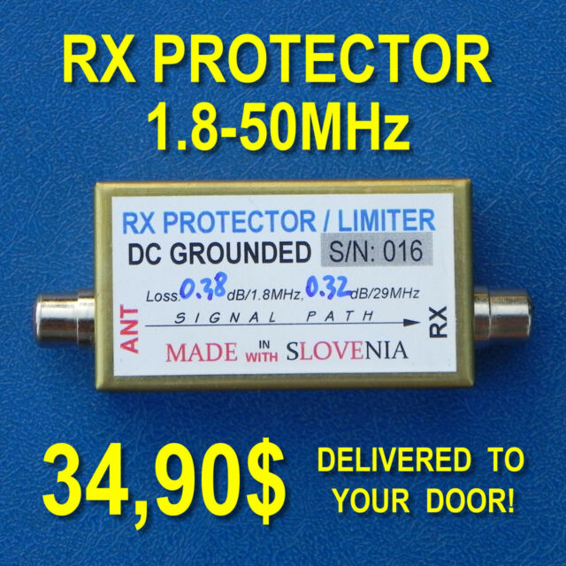 RF Limiter / Receiver Front-End Protector / RF Fuse for Hamradio HF QRO use