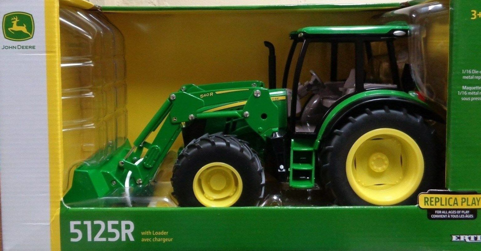 NEW John Deere 5125R Tractor with 540R Loader 1 16 Scale, Ages 3+ (LP64408)
