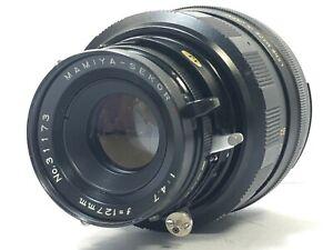 Exc-5-Mamiya-Sekor-LENTE-127mm-f-4-7-P-per-SUPER-23-Universal-Press-dal-Giappone