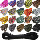 New 100FT 550 Paracord 7 Strands Parachute Cord Rope Lanyard Mil Spec Type~TN