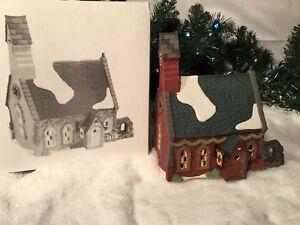 "Dept 56 /""Dudden Cross Church/"" Dickens Village #58343..................NEW IN BOX"