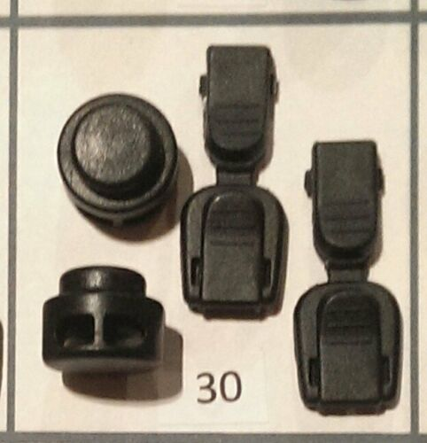 No Tie Replacement Clips /& Toggles Locking Elastic Shoelace Lock Lace bungee
