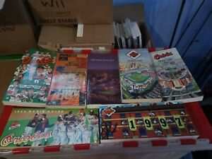 Lot-of-8-BALTIMORE-ORIOLES-Media-Guides-1984-1991-2-1992-1993-1994-1996-1997