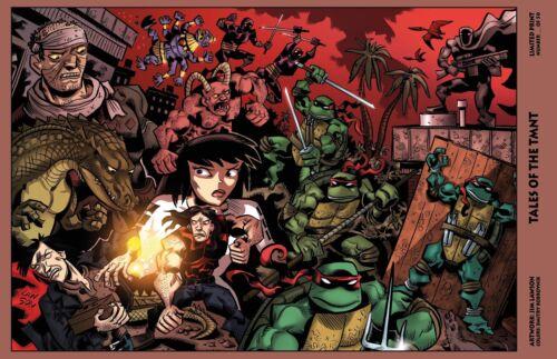 Mirage Tales Signed. Teenage Mutant Ninja Turtle Limited Art Print