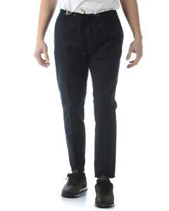 Homme P34203702 Alessandrini 23 Pantalon Coton Daniele Pantalon Bleu Pantalon n0A4Txw