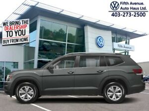 2018 Volkswagen Atlas Execline 3.6 FSI  - Certified - $299 B/W