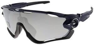 52d10dcc2a7 Image is loading Oakley-Jawbreaker-Sunglasses-OO9290-12-Navy-Chrome-Iridium-