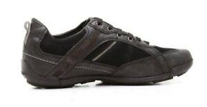 Nero Colore Geox Inserto M Modello Uomo Con Scarpe Cart Scamosciato Sneakers XqwAT4YYx