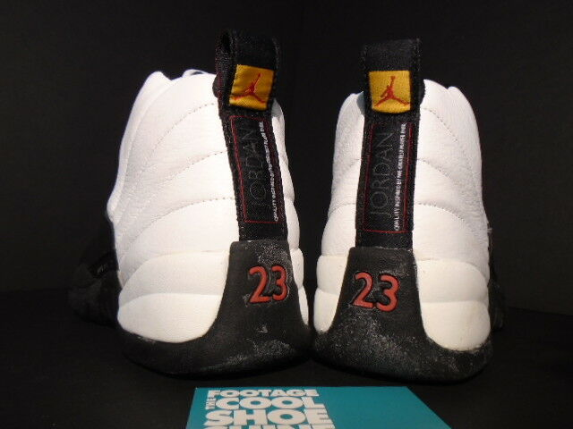 new arrival 36d7e 3c979 ... 1996 original Nike Nike Nike Air Jordan XII 12 blanco negro taxi de oro  rojo 130690 ...