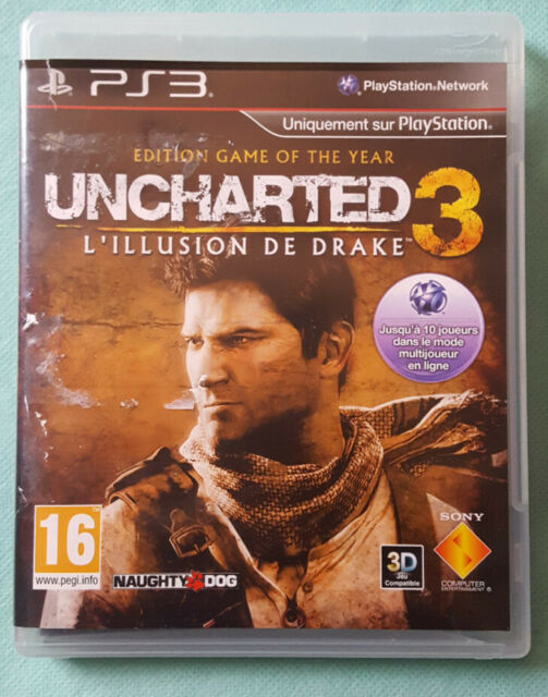 Jeu PS3 Uncharted 3 : L'illusion de Drake - PlayStation 3 - Sony