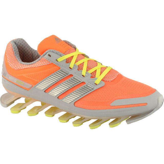 Buy adidas Womens Springblade Razor Running Shoe US 11 EU 44 Orange ... a80c6530be