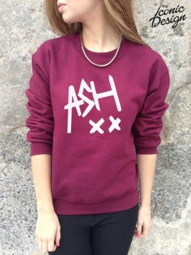 * ASH 5SOS Jumper Sweater Top Sweatshirt Ashton Irwin Music Tumblr 5 SOS Band *