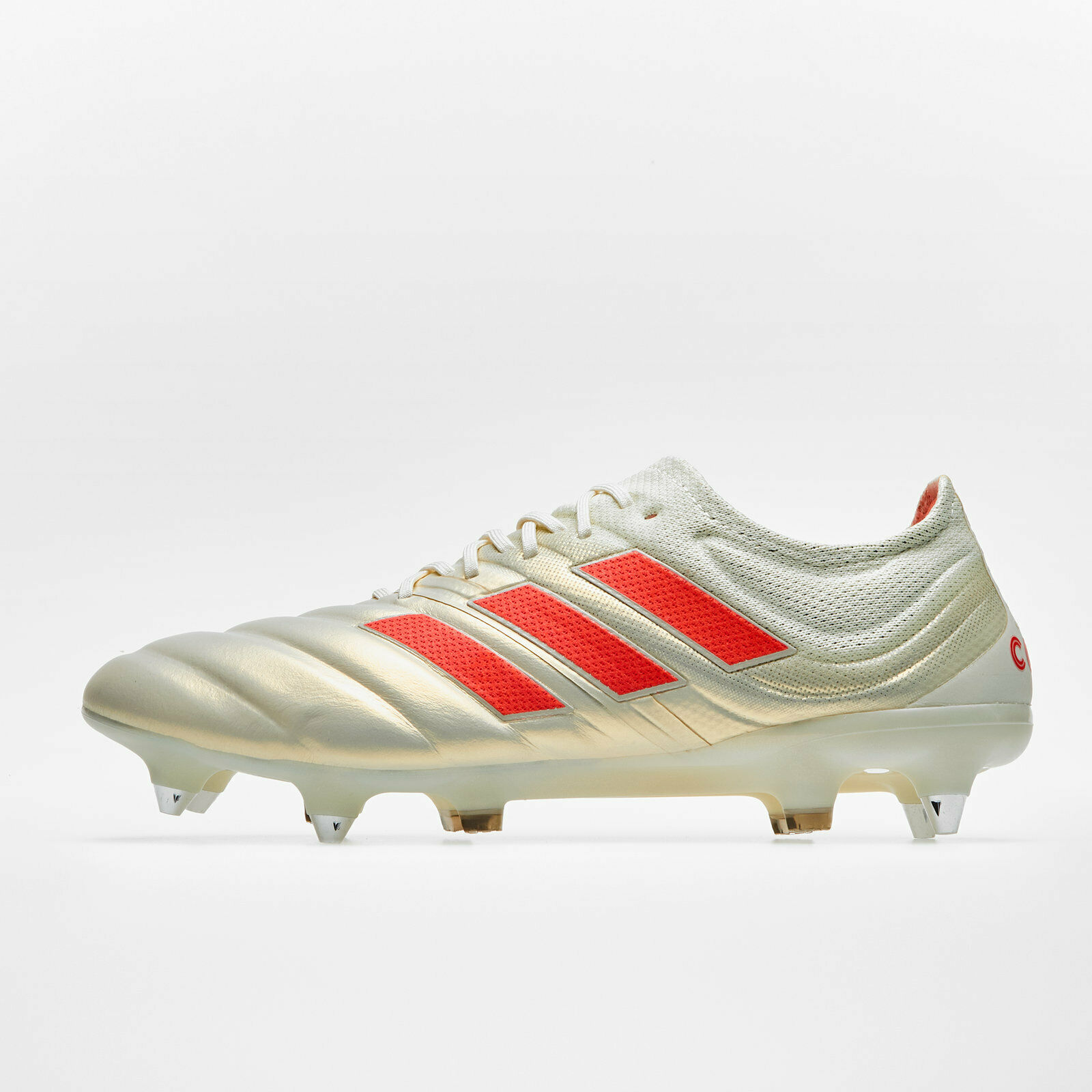 e25e40012b2 Adidas Mens Copa 19.1 Football Studs Trainers Sports shoes White SG Boots  ndnpfz2119-Football Trainers