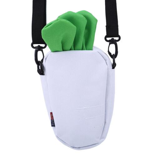 Girls Cartoon Carrot Design Shoulder Bags Messenger Crossbody Satchel Bag GD