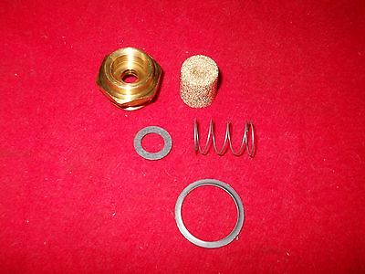 """AED /& QFT Carbs Holley Fuel Fittings /& Bronze Filters 3//8/""""  Line; Avenger"""