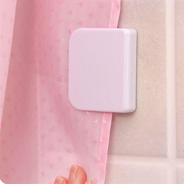 2pcs Magic Anti Splash Shower Curtain Clips Stop Water Leaking Guard