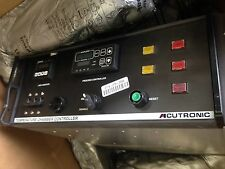 USED ACUTRONIC 1147E60LA (167) TEMPERATURE CHAMBER CONTROL CHASSIS CONTROLLER BL