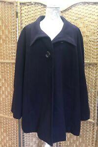 Lovely-Ladies-Roman-Originals-Warm-Winter-Coat-Purple-UK-Size-XL