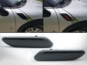Black-Lens-LED-Side-Marker-Signal-Light-For-Mini-Cooper-Countryman-R60-R61