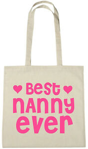 Image Is Loading Best Nanny Ever Bag Gift Ideas Christmas Birthday