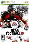 NCAA Football 10 (Microsoft Xbox 360, 2009)
