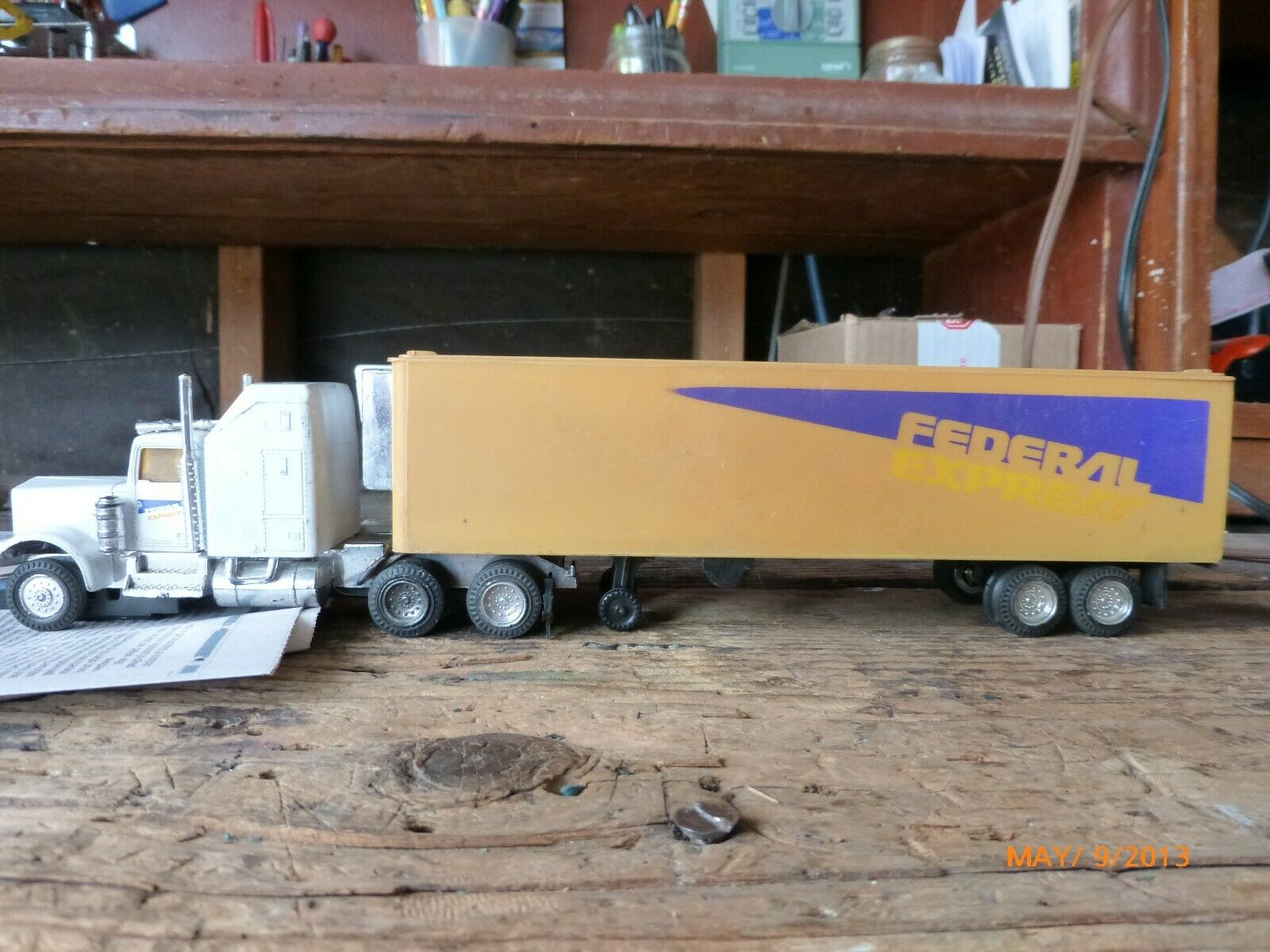 FEDERAL EXPRESS TRACTOR TRAILER VINTAGE 1970'S