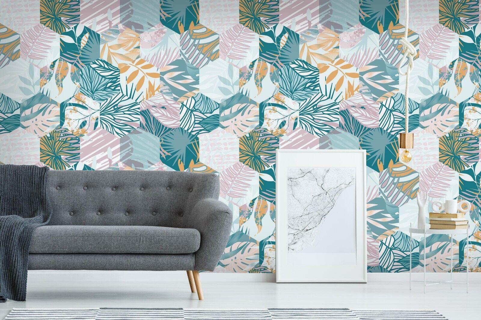 3D Grün Pattern 8 Wall Paper Print Wall Decal Deco Indoor Wall Murals US Summer