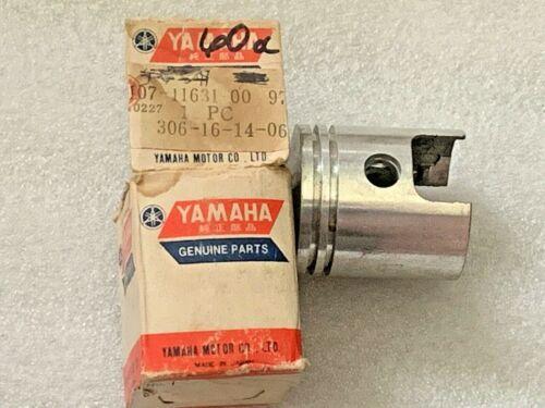 1962-1963-1964 Yamaha MJ2 MJ2T Omaha Trail 55 Piston Std OEM NOS 107-11631-01-97