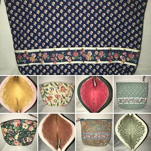 Vintage-Vera-Bradley-Retired-Small-Cosmetic-Pouches-Multiple-Patterns-5-5-x-7