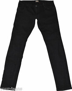 Only-Jeans-Skinny-Low-Gr-L-Schwarz-Stretch-Roehre