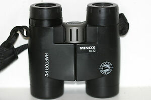 MINOX  (VORTEX) .....8 x 32 ...  BINOCULARS   FANTASTIC   VIEW OUT    GERMAN