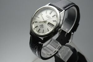 Vintage-1973-JAPAN-SEIKO-LORD-MATIC-SPECIAL-WEEKDATER-5206-6130-25J-Automatic