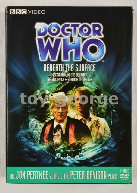 Region 1 - Doctor Who - Beneath The Surface - Stories 52, 62, 131 - DVD