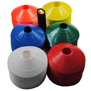 Ensemble-De-10-Space-Markers-Cones-Soccer-Football-Training-Equipm-IY