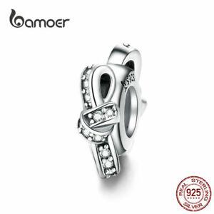 BAMOER-Women-European-CZ-Charm-S925-Sterling-Silver-Knot-Fit-Bracelet-Jewelry