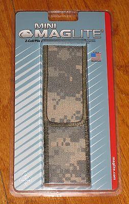 Maglite Digital Camo AA Holster Nylon Minimag-lite mag-light Maglight