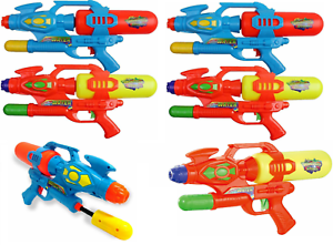 6-x-Giant-16-5-034-Water-Guns-Super-Pump-Action-Cannon-Shooters-Soaker-Pistols-651