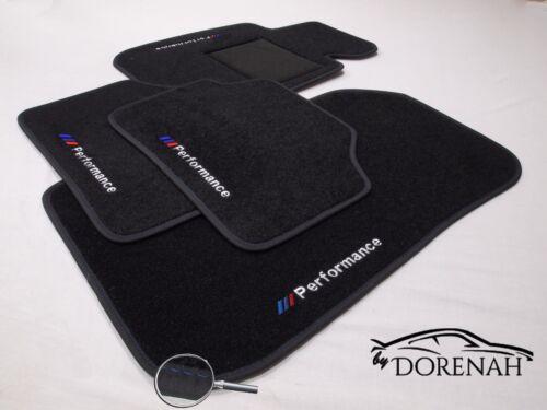 DAL 2011 AL 2018 no original TAPPETINI PER BMW SERIE 3 F 30// F31