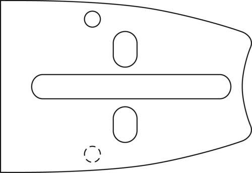 "Schwert Kettensäge Motorsäge Echo Zenoah McCulloch Tanaka Poulan 45cm 3//8/"" 64Trg"