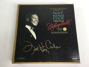 Nat King Cole Golden Treasury Unforgettable Vinyl Record Ebay