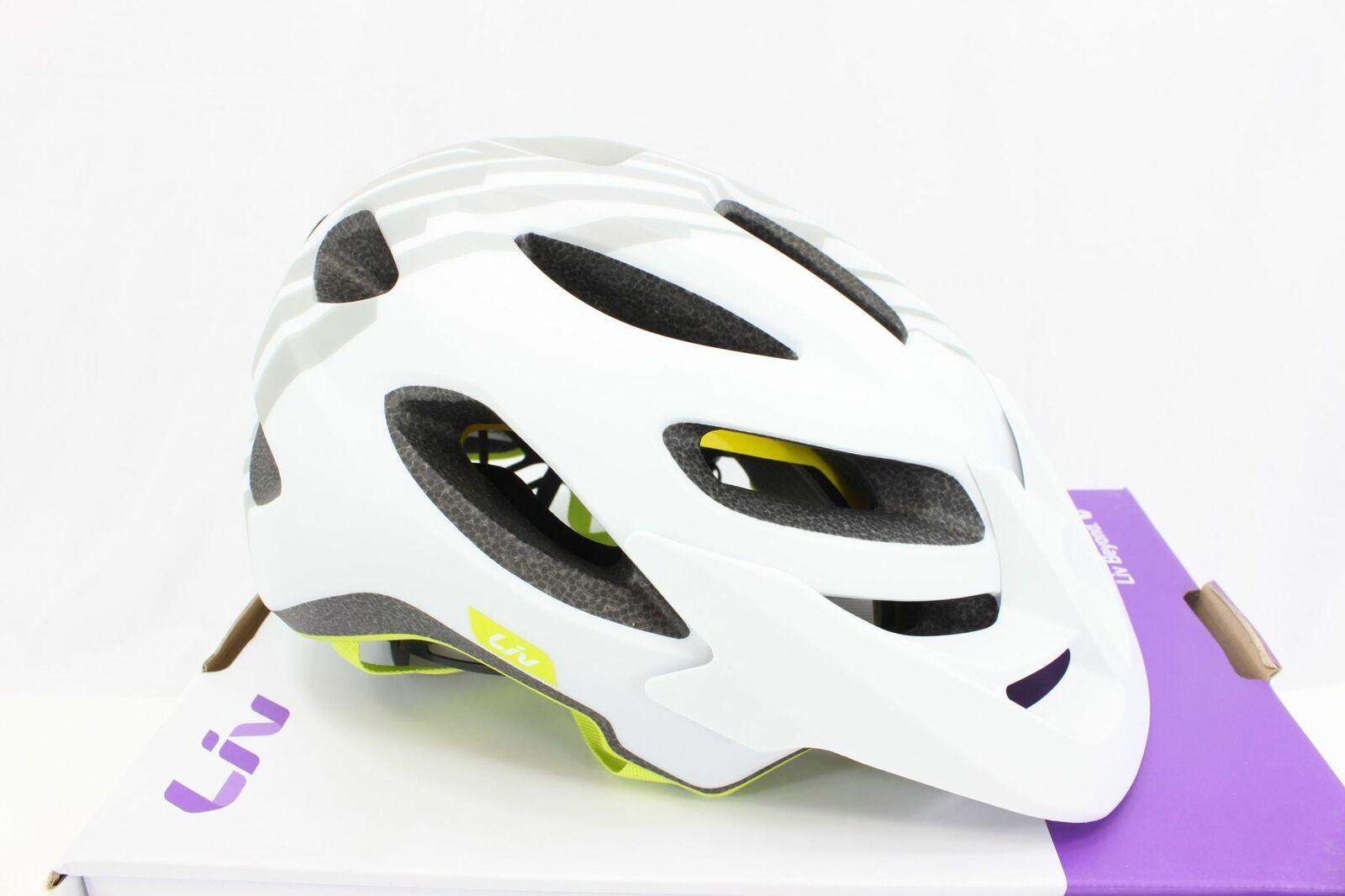 Giant Liv Cycling Coveta MIPS Bike Helmet Tonal grigio Smtutti & Medium NIB