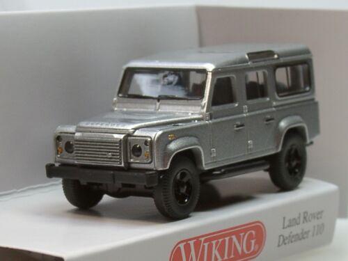 silber 0102 03-1:87 Wiking Land Rover Defender 110