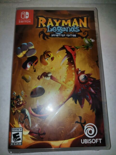 Rayman Legends: Definitive Edition (Nintendo Switch, 2017) Brand New - Sealed