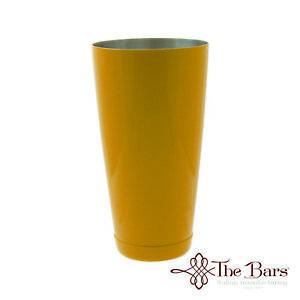 IngéNieux New Boston Shaker Nuova Verniciatura Colore Giallo Bartender Barman Bilanciato Handicap Structurel